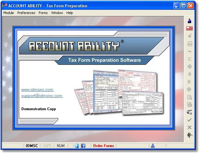 Click to view Account Ability Tax Form Preparation 24.00 screenshot